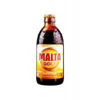 Malta Gold Glass Bottle